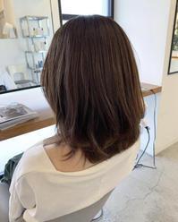 インスタを見て御来店のお客様 - COTTON STYLE CAFE 浦和の美容室コットンブログ