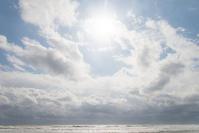今日の朝。 - 東に向かえば海がある
