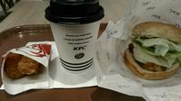 KFC『チキンフィレサンドライトセット』 - My favorite things