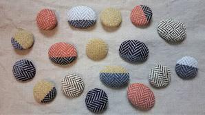 アルパカウ-ルのブロ-チ - 手織とペットと静かな暮らし oricago
