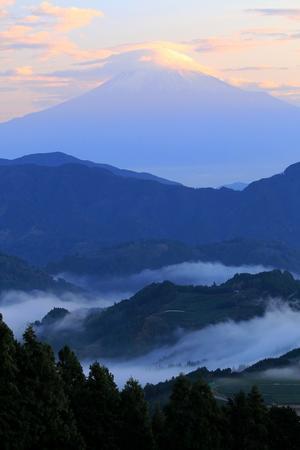 吉原の朝(10月20日) - 富士山大好き~写真は最高!