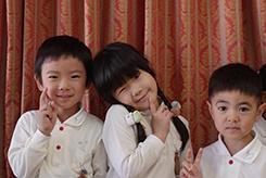 10月のお誕生会。ー平成30年度ー - 陽だまりの小窓 - 菊の花幼稚園保育のようす