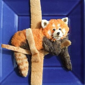 トースト「レッサーパンダ」 - 人生で我慢するのはトイレだけ!