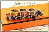 Buckle ring★キットはこの8色で決定! - 神戸インテリアコーディネーターのグルーデコ®教室☆Vita Felice☆(JGA認定校)