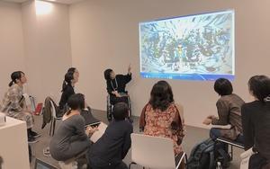 札幌のアートコミュニケーターのための講座で「対話による美術鑑賞」 - 美術と自然と教育と