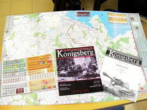 【最新作お披露目】Revolution Games Konigsberg: The Soviet Attack on East Prussia, 1945 - YSGA(横浜シミュレーションゲーム協会) 例会報告