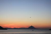 枕崎の朝景色。 - 青い海と空を追いかけて。