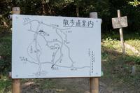 里山の案内看板がリニューアル - 里山を歩く会