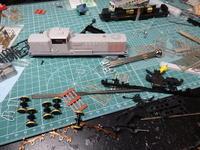 KATOのDE10軽くサフと下回り分解 - Sirokamo-Industry
