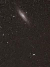 アンドロメダ銀河に接近中のスイフト・ゲーレルス彗星(64P) - 安倍奥の星空