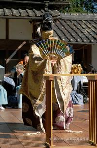 桃香野八幡宮例祭奉納「翁」,The Noh performance for GOD. - 奈良と  大和写真家™「影向」 Nara and Japanism by高畑写真事務所