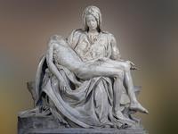 天才彫刻家ミケランジェロの『ピエタ』の聖母マリアは、どういう意味? - José Ishiguroの前衛芸術