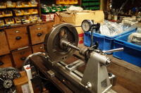 1981FXS1340 クランク芯だし、組み付け - Vintage motorcycle study
