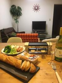 Raclette and Fondue Maker Meltを使ってラクレットパーリー♪ - GLASS ONION'S BLOG