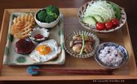 残り物ひとりブランチ(๑¯﹃¯๑)♪ - **  mana's Kitchen **