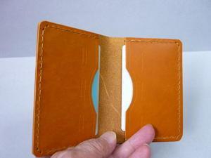 2枚 カード、定期・・・ケース(両面隠し) -