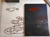 栗本夏樹漆芸レッスン第3回目 - アートで輪を繋ぐ美空間Saga