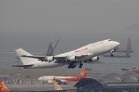 香港国際空港観景山から撮ったR/W07R離陸機⑪ - 飛行機&鉄道写真館