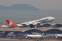 香港国際空港観景山から撮ったR/W07R離陸機⑫ - 飛行機&鉄道写真館
