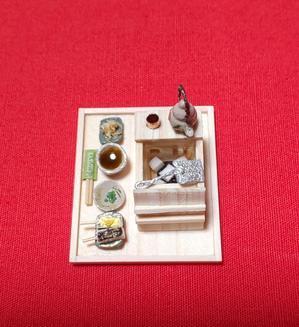 ミニチュアの 湯豆腐セット - 江戸小物・和雑貨店「神田 ちょん子」