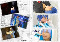 【コスプレ写真集】VOCALOID【KAITO】vol.2 - Realize*
