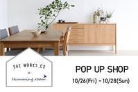 SAC WORKS POP UP SHOP - Humming room