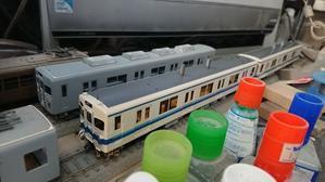 東武8000系の製作(その7) - 工作日報 川ロ車両製作所
