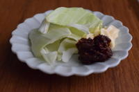 小皿つまみ*焦がしにんにく味噌でキャベツ - 小皿ひとさら