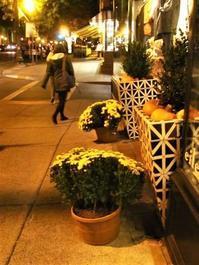 秋の街と新製品 - NYからこんにちは