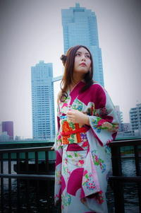 At Sumida river tsukisima Tokyo - As it is