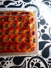 2種類のぶどうのケーキ - Kitchen diary