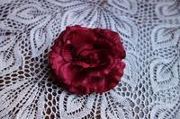 バラ色のシルクのコサージュHold(Okum10.21) - スペイン・バルセロナ・アンティーク gyu's shop