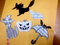 ☆ハロウィンパーツの型紙と・・☆ - ガジャのねーさんの  空をみあげて☆ Hazle cucu ☆