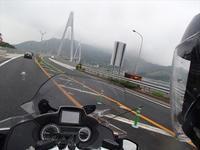 四国へ、100名城と金毘羅さん初日-今治B級グルメ- - SAMとバイクとpastime