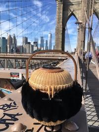 ブルックリン橋とバスケット - ローズ家のナンタケットバスケット