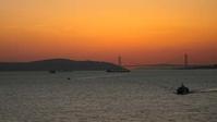 夕焼けと明石海峡 - Blue Planet Cafe  青い地球を散歩する