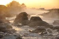 多摩川の霧 - 萩原義弘のすかぶら写真日記