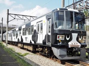 牛の電車が走っている - 鳥と漫画とビーズなオタク☆本館