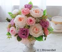 オークション出品☆上品なアレンジ♪ - お花とマインドフルネスな時間 ~花工房GreenBell~