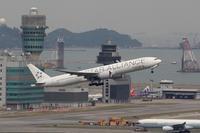 香港国際空港観景山から撮ったR/W07R離陸機⑨ - 飛行機&鉄道写真館