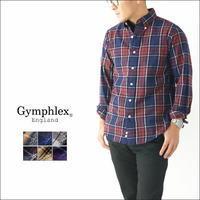 Gymphlex [ジムフレックス] 60/2ビエラ起毛 B.D チェックシャツ [J-0643 VHC] ボタンダウン・チェックシャツ・起毛・シャツ・ MEN'S - refalt blog