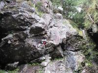 宇都宮市古賀志山の不動滝周辺でクライミングRock Climbing at Kogashi in Utsunomiya, Tochigi - やっぱり自然が好き