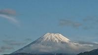 10月23日、今朝7時ごろの富士山です。 - 楽しく元気に暮らします(心満たされる生活)