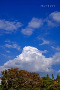 秋の入道雲 - Slow Life is Busy
