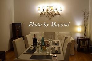 完璧なディナー@お友だちのおウチにお呼ばれ♪ - ローマより愛をこめて