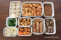 ビビンバ丼&今週の作り置き - 男子高校生のお弁当