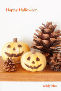 Happy Halloween!  ハッピーハロウィン! - teddy blue
