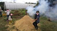 【レポート】さつまいも掘り&焼き芋つくろうー!の会 - organicfarm暮らしの実験室のおーがにっくな日々