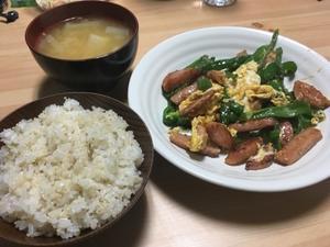 本日の夕飯 - 思ったことを気ままに書くブログ