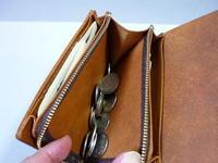 革  と  縫うヶ所が 最も多い・・・財布 - 革小物 paddy の作品